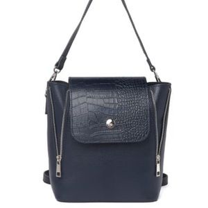 Christian Laurier Lou Navy Convertible Backpack